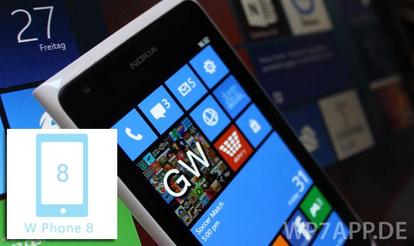 w phone 8 fuer windows phone