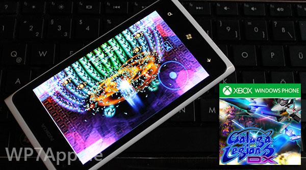 "Das neue Xbox Windows Phone Spiel ""Galaga Legions DX"""
