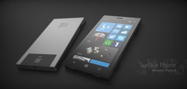 "Microsoft ""Surface Phone"" Windows Phone 8 Konzept"