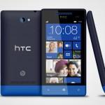 HTC 8S mit Windows Phone 8 in Atlantic Blue
