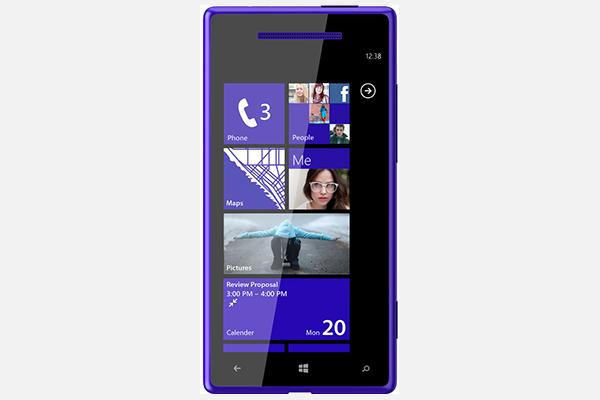 "Das Windows Phone 8 ""HTC 8S"", Codename ""Accord"""
