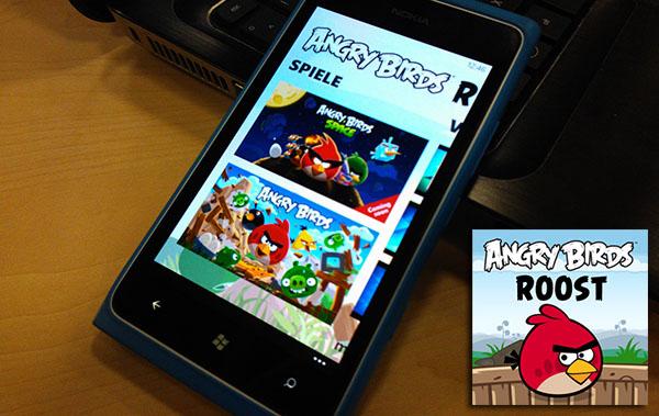 Angry Birds Roost exklusiv für Nokia Windows Phones