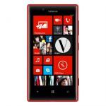 Voderseite des Nokia Lumia 720 in Rot